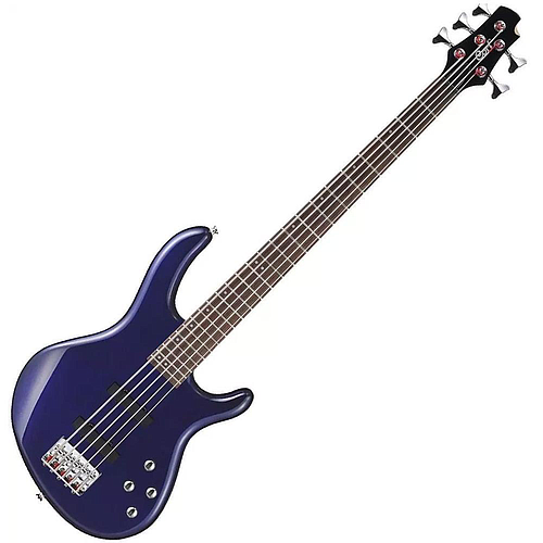 Cort - Bajo Eléctrico Action Bass de 5 Cuerdas, Color: Azúl Mod.Action Bass V Plus BM_14