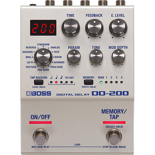 Boss - Pedal de Efecto Delay Digital Mod.DD-200_15