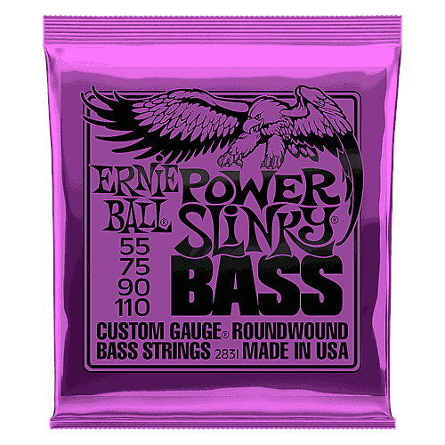 Ernie Ball - Encordado para Bajo Eléctrico, Power Slinky Mod.2831