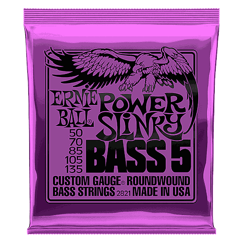 Ernie Ball - Encordado para Bajo Eléctrico, Power Slinky Mod.2821